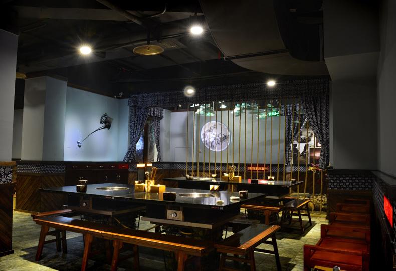 火锅店通风系统中央空调
